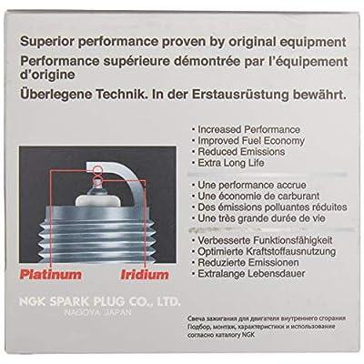 NGK DILFR7K9G Spark Plug (91961 Laser Iridium), 4 Pack: Automotive