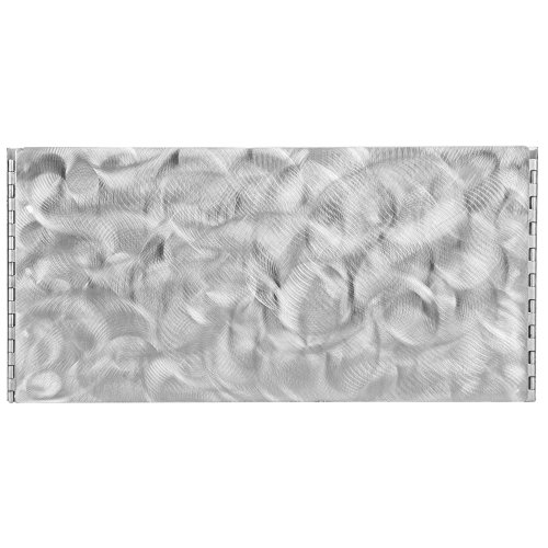 "Tablecraft Caterware CW602RSS 2-Well Collapsible 16 Gauge Random Swirl Stainless Steel Server - 25 1/2"" x 20 1/2"" x 10"""