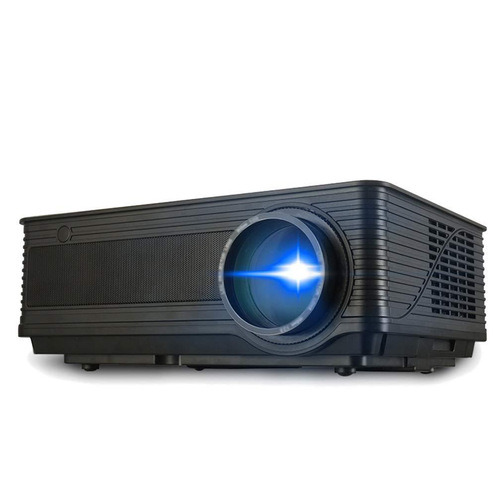 HUA BEI プロジェクター - SLRレンズ、25メートルの距離、画像サイズ:64120インチ、解像度1280 * 800DPI、オフィス、学校、家族に適しています。 | ( Color : Official standard ) B07H62KQNM