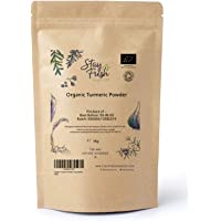 Stay Fresh Organics - Organic Turmeric Powder 1kg - Eco Friendly Pouch - Certified by Soil Association