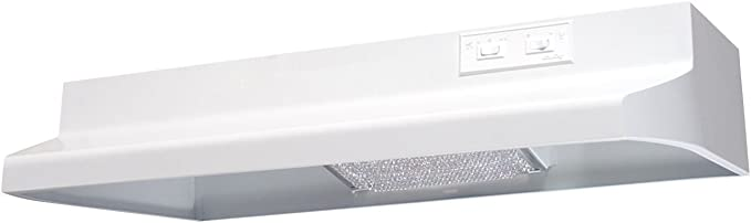 "Broan 413601 36/"" Non-ducted Range Hood 2 Spd Rocker Light 160 Cfm"