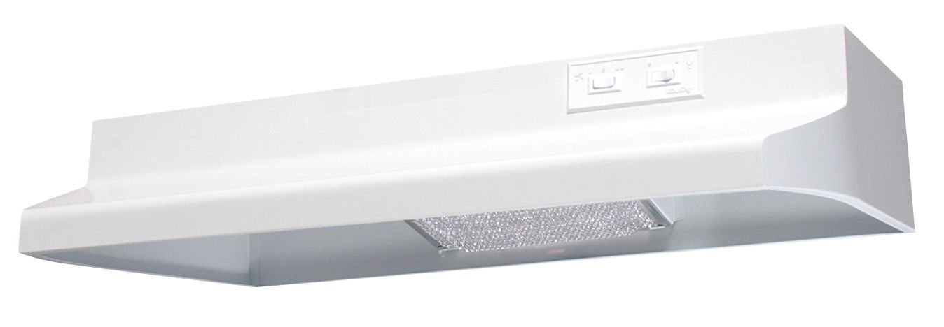 Air King AV1423 Advantage Convertible Under Cabinet Range Hood with 2-Speed Blower and 180-CFM, 7.0-Sones, 42-Inch Wide, White Finish HH-29606886