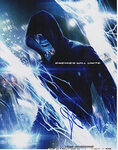 Jamie Foxx Autographed - Hand Signed The Amazing Spiderman 2 11x14 Photo - Guaranteed to pass PSA or JSA