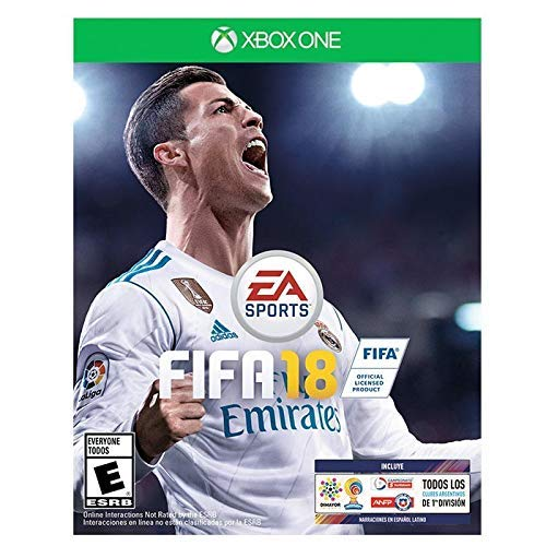 Fifa 18 For Xbox 1- Plays In English and Spanish