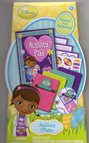 Disney Doc Mcstuffins Activity Pad and Rubbing Plates by Disney