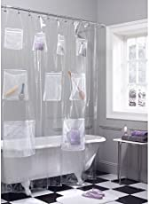 Shower Curtains With Pockets On Amazon
