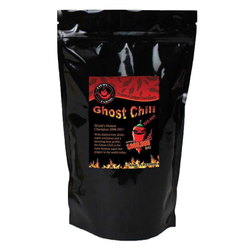 Bhut Jolokia Crushed | Ghost Pepper Flakes (8oz)