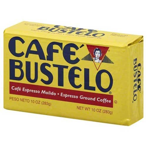 Cafe Bustelo Espresso Ground Coffee, 10 Ounce -- 24 per case. by Cafe Bustelo