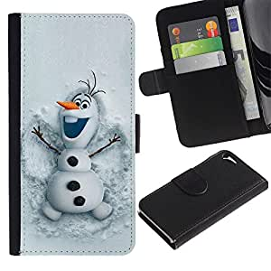 A-type Arte & diseño plástico duro Fundas Cover Cubre Hard Case Cover para Samsung Galaxy S3 (Snowman Funny Winter Cartoon Kids)