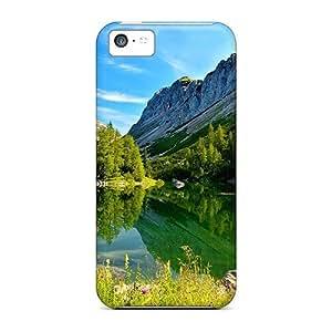 For Iphone 5c Tpu Phone Case Cover(lake Triglav Slovenia)
