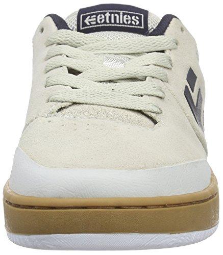 EtniesMARANA - Zapatillas de Skateboard Hombre Blanco - Weiß (153/WHITE/NAVY/GUM)