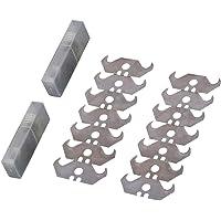 20Pack Utility Hook Utility Blades Heavy Duty SK5 Steel Hook Blade for Box Cutter Carpet Cutter Utility Knife Hook…