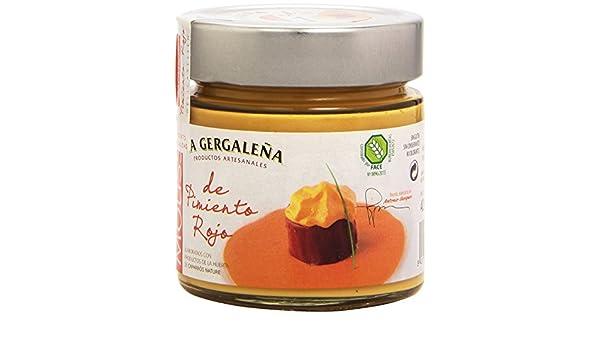 La Gergaleña Productos Artesanales Mousse de Pimiento Rojo - 235 gr: Amazon.es: Alimentación y bebidas