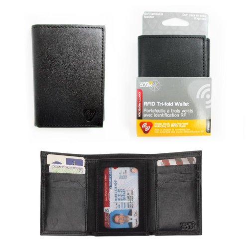 lewis-n-clark-mens-black-tri-fold-leather-rfid-blocking-wallet-card-security-new