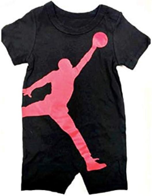 Jordan Jumpman Nike - Pelele de algodón para niños, 0/3 Meses, Negro: Amazon.es: Deportes y aire libre