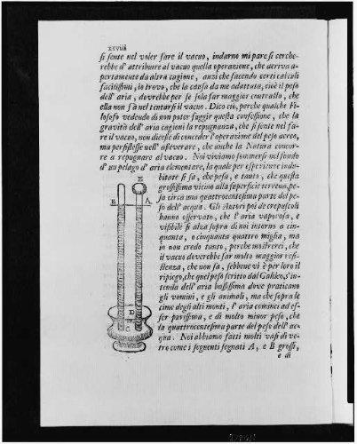 Foto: Foto de tubos Que Contienen Mercurio, aspiradora, barómetro, 1715, Evangelista Torricelli