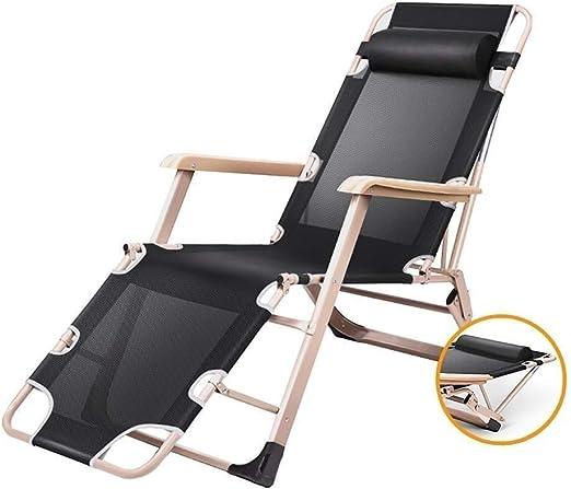 Mueble de jardín / Sillas for patio Silla reclinable Terraza Sillón reclinable de gravedad cero Césped en