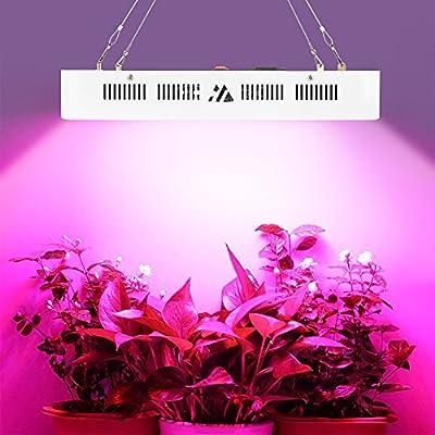 Grow Lampe Led Pflanzen 1500w Wuchs Und Blute Spektrum Pflanzenleuchte Pflanzenlampe Mit Ir And Uv Wachsen Licht Amazon De Beleuchtung