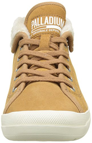 Hautes Sugar S Femme Beige Brown Aventur W Baskets Palladium WRM Marron XxSwaqz