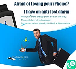 Fonrest APP Phone Portable Bluetooth Dual SIM Adapter for iphone 5/5S, 6/6Plus ,6s/6s plus/iPad Air/Air 2/iPod touch 6/5 Expansion Micro Sim Cards adapter, Anti-lost Key Finder & Camera Remote Shutter