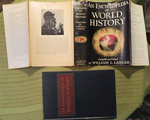 1948 AN ENCYCLOPEDIA OF WORLD HISTORY by WILLIAM LANGER Hardcover Book (An Encyclopedia Of World History William Langer)