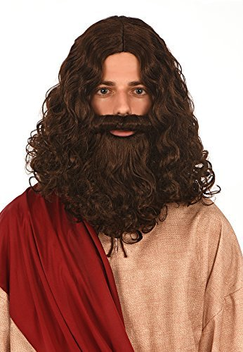 Kangaroo Costumes - Jesus Wig and Beard -