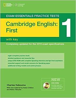 Cambridge English First FCE Exam Essentials Practice Tests 1 Helbling Languages Amazonde Charles Osbourne Fremdsprachige Bucher