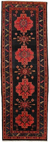 Admin Rugs Gorgeous Palace Size Geometric Meshkin Persian Style Rug Oriental Area Carpet 5X14