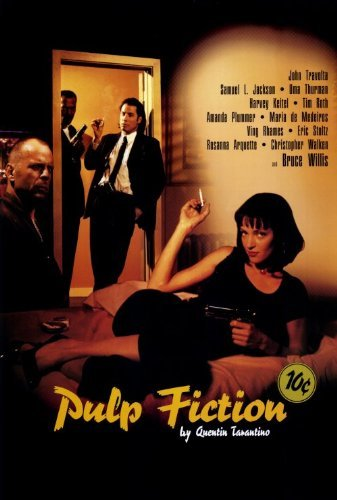 Pulp Fiction Poster Movie  27 X 40 Inches   69Cm X 102Cm   1994   Style C
