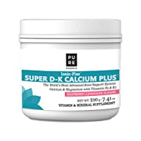 Pure Essence Ionic Super D-K Calcium Plus by Pure Essence - With Extra Magnesium...