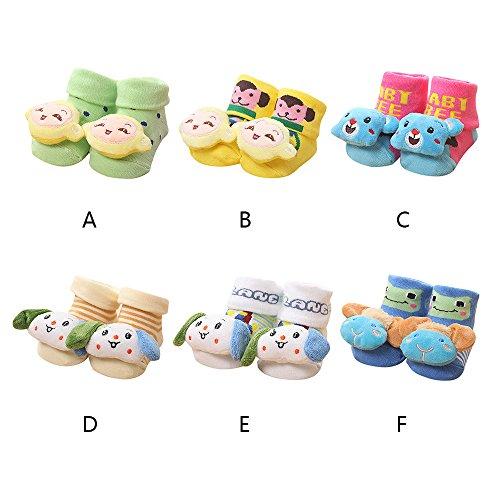 Toddler Anti-Slip Socks Slipper Bell Shoes Boots ODGear Baby Infant Socks CS20 - F1 Uk Shop