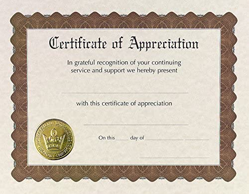 Great Papers Certificate Appreciation 930000