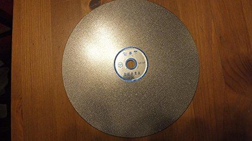 "8"" 80 Grit Diamond Lapidary Faceting Flat Lap Disk"