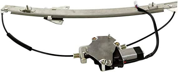 AutoShack WR841492 Front Driver Side Power Window Regulator with Motor