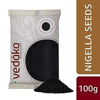 Amazon Brand – Vedaka Nigella Seeds (Kalonji), 100g 51Mu8fhW8pL