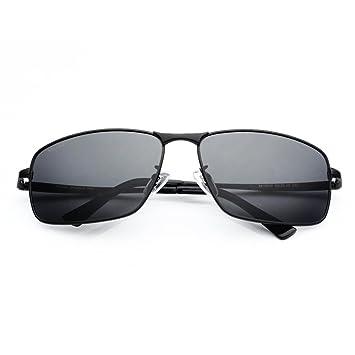 Freizeit Retro Fahren Polarisierte Sonnenbrillen,Black