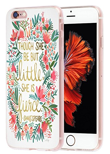 6S Case quotes, Apple Iphone 6 Case though she be but little...