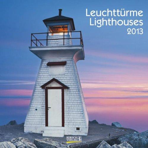 Leuchttürme/Lighthouses 2013 Broschürenkalender