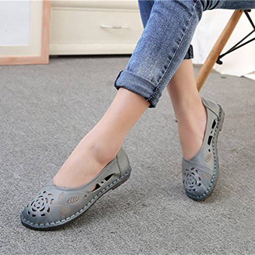 cf840984b138 Yougao Women s Slip On Flat Driving Loafers Mother Shoes Moccasins Shoes  durable modeling