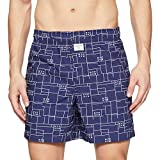 United Colors of Benetton Men's Cotton Boxers (353DI_Large_Blue Aeroplane Print)-918