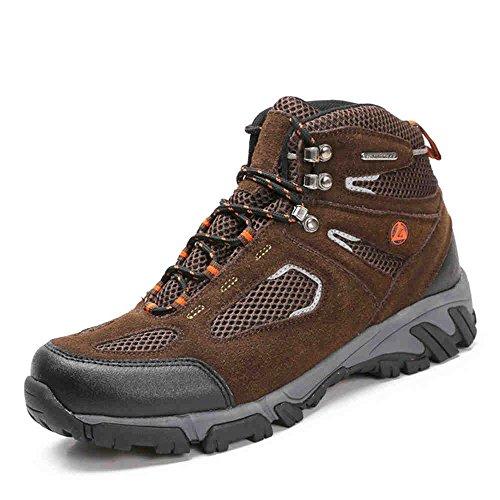 Nave nel deserto traspirante Men's-Scarpe da escursionismo, colore: marrone scuro, EUR43)