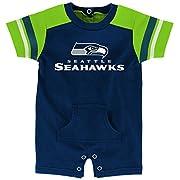 NFL by Outerstuff NFL Newborn & Infant Rusher Romper, Dark Navy, 9 Months