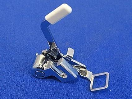 Pie prensatelas cuadrado para zurcir y bordar compatible con Brother, Janome y más máquinas de
