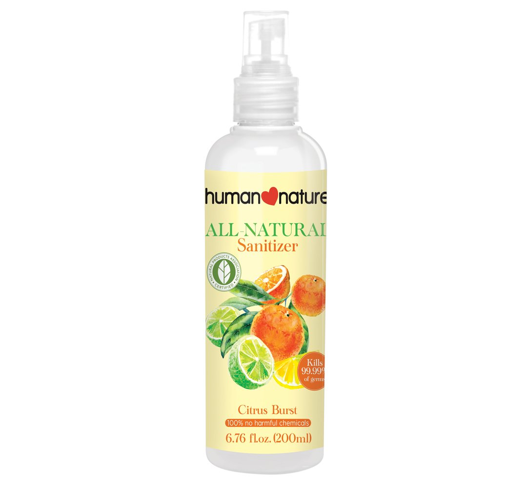 Amazon Com Human Nature 100 Natural Triclosan Free Sanitizer