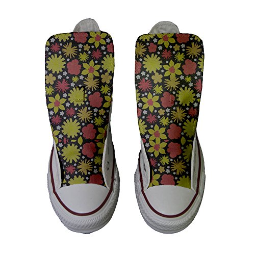 Converse All Star zapatos personalizados (Producto Handmade) Hot Colore Paisley