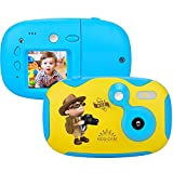Kids Camera Childrens Camera Rechargeable Mini Digital Camera for Kids with 1.44 Inch Display Festival Birthday Xmas Kids Camera for Girls Boys