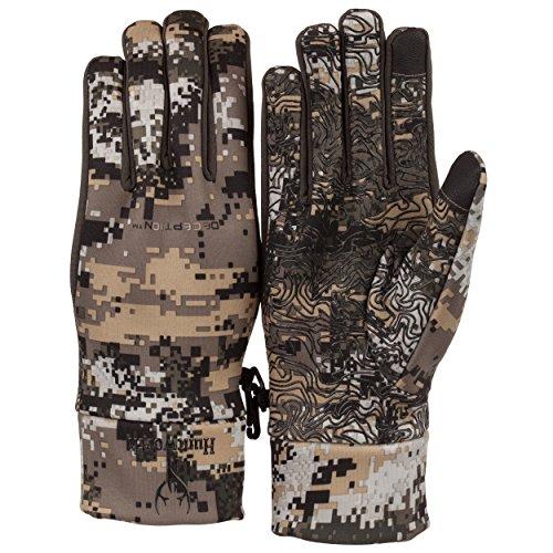 Gloves Stealth (Huntworth Men's Stealth Shooter's Gloves, Disruption ,Large/X-Large)
