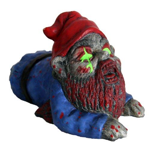 Gnome In Garden: Zombie Lawn Ornaments