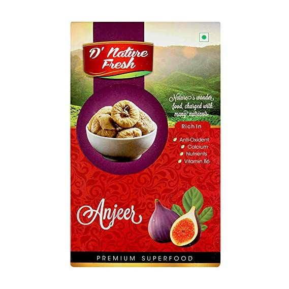 D'nature Fresh Natural Anjeer (Fig), 250 Gram