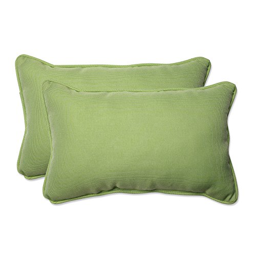 (Pillow Perfect Outdoor/Indoor Tweed Rectangular Throw Pillow (Set of 2),)
